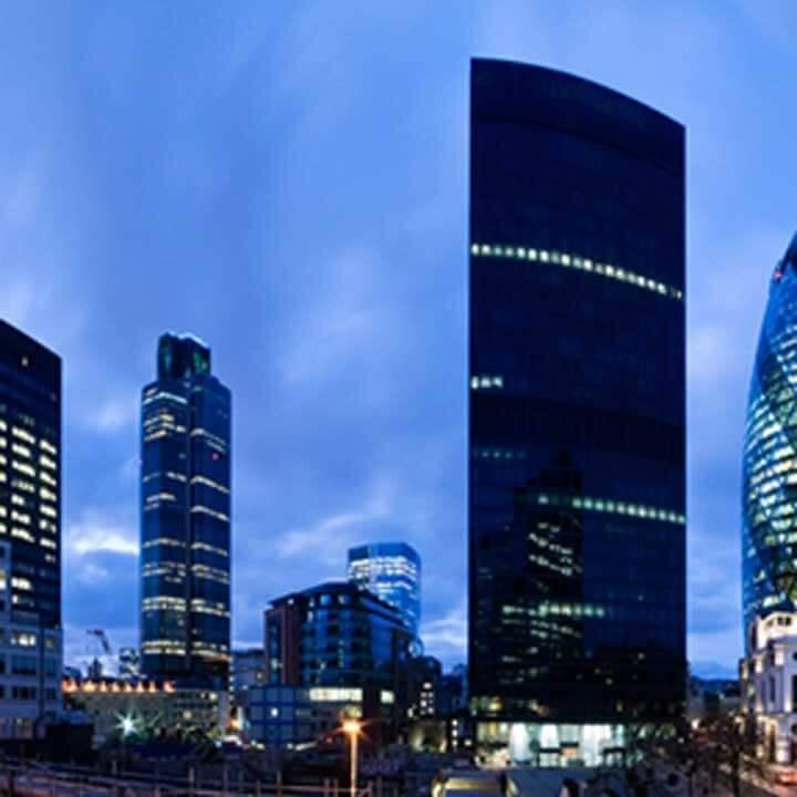 Moody London Skyline