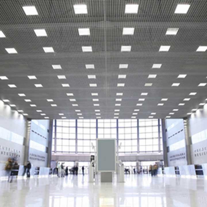 large reception area