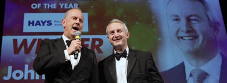 Walker Morris Partner, John Hamer, at the Yorkshire Business Insider Awards
