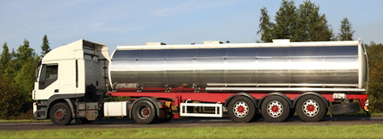 Image of a tanker truck