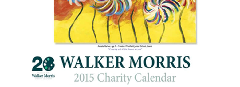 Walker morris 2015 Charity Calendar front cover