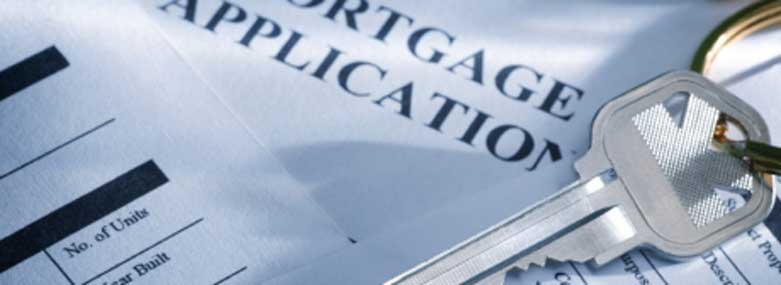 Mortgage Application with a set of keys