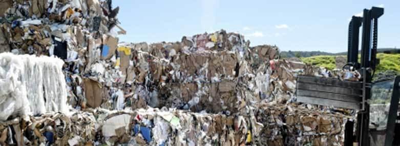 waste at a rubbish dump