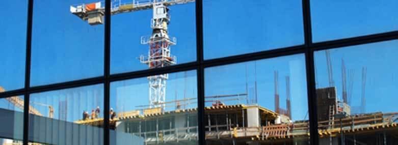 crane on a construction site