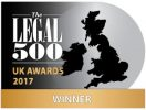 Legal 500 uk awards 2017 winner
