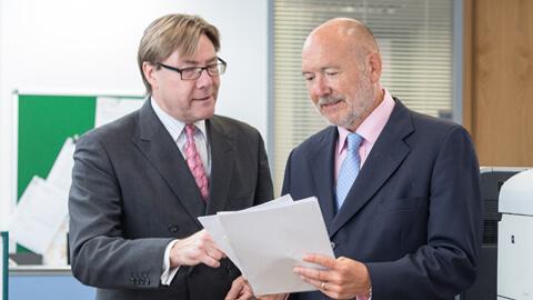 David Smedley and Ian Akitt