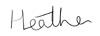 Heather Williams' Signature