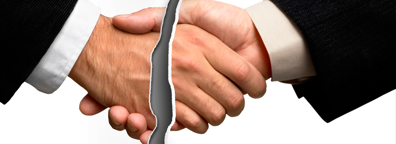 Handshake Breaking