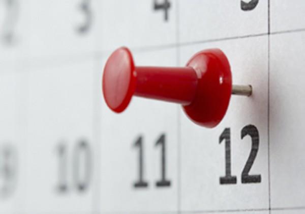 Calendar - date pinned