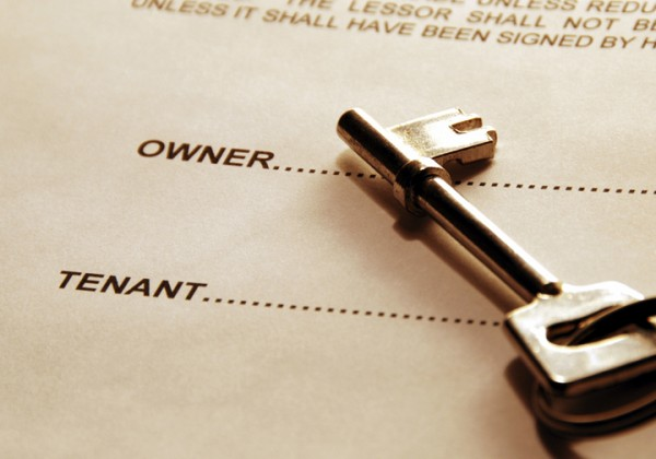 Key on tenancy document