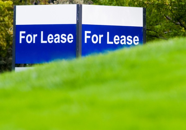 Land for lease sign
