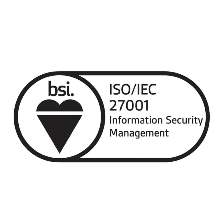 BSI Assurance Mark for ISO 27001