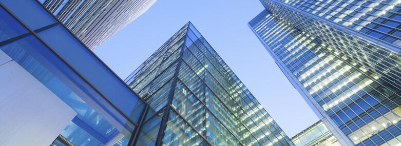 Skyscraper offices