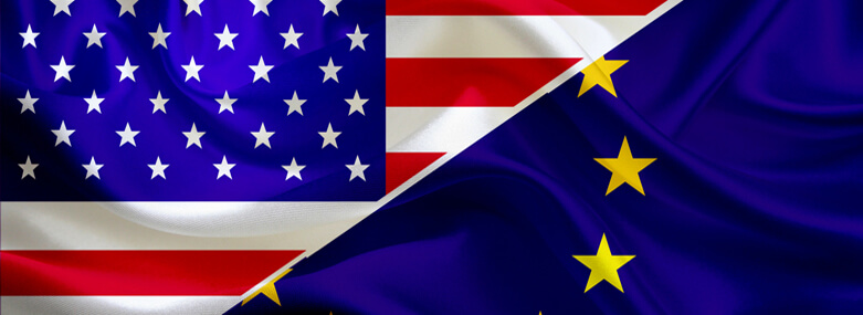 EU & US Flag