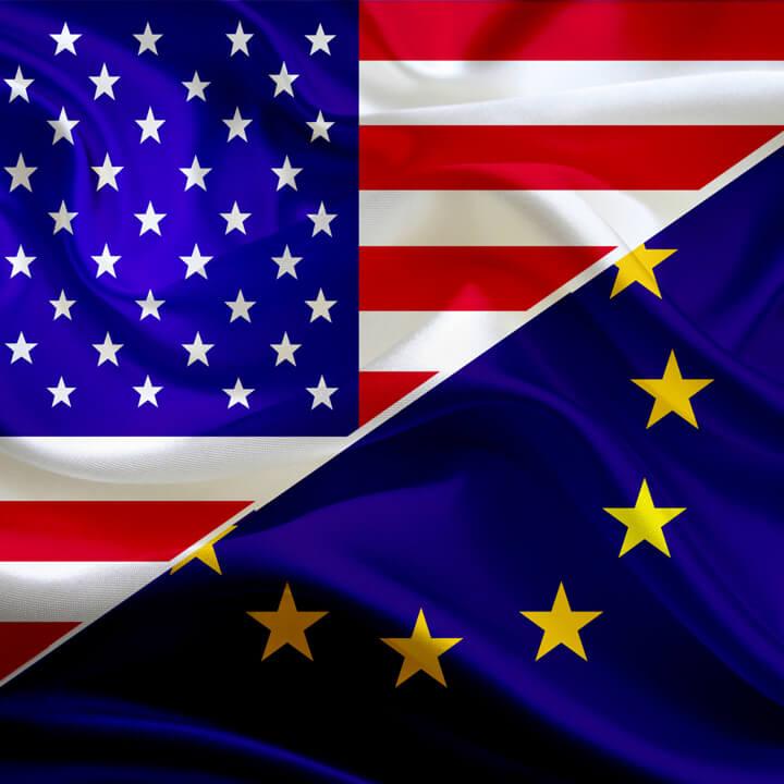 EU & US Flag