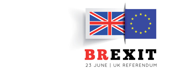 Brexit vector illustration