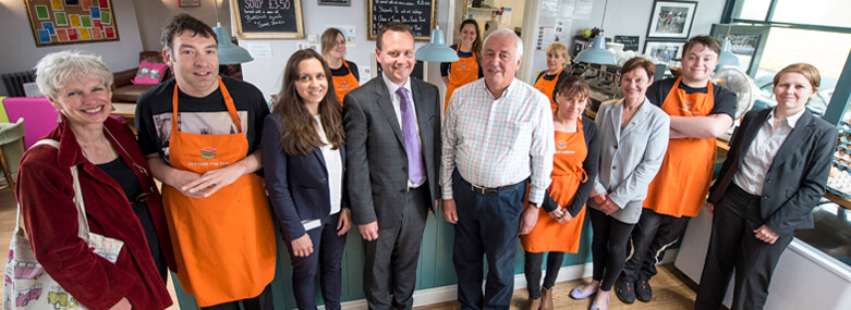 Ilkley Community Enterprise expands its services for people with learning disabilities at the Outside the Box Cafe