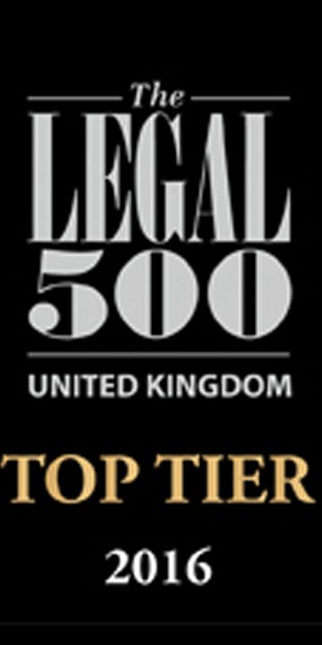 Legal-500 UK top tier firms 2016 logo