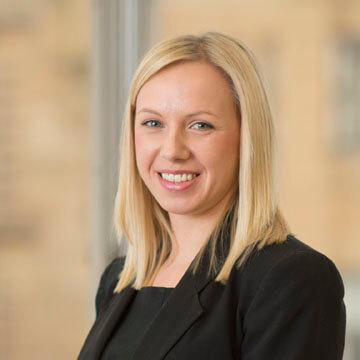 Olena Jarockyj, Associate, Real Estate & Banking Litigation