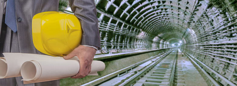 engineer yellow helmet for workers security construction plan