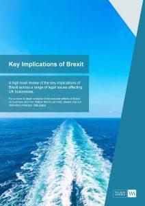 Key Implications of Brexit