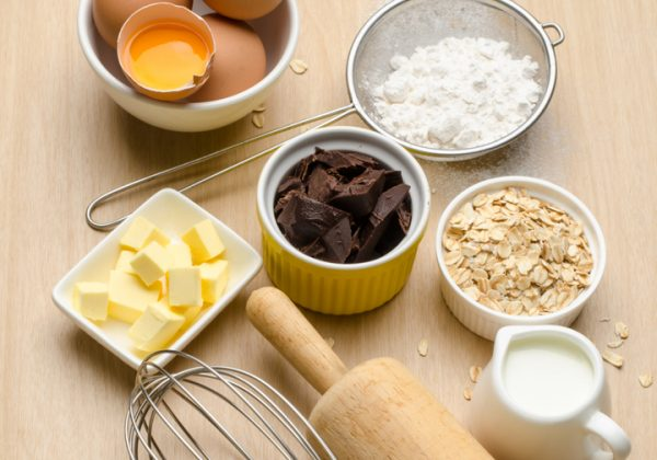 Food ingredient and recipe for backing