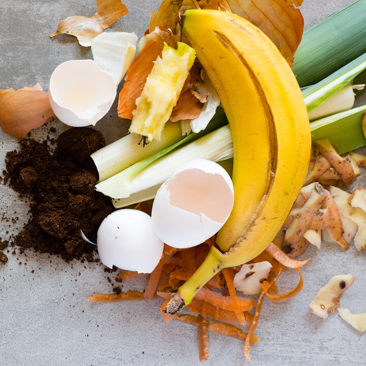 Organic waste to make compost