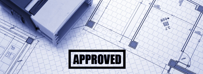 Approved plan drawings