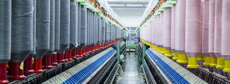 a modern textile mill