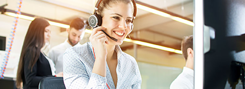 Call centre customer support 781x285