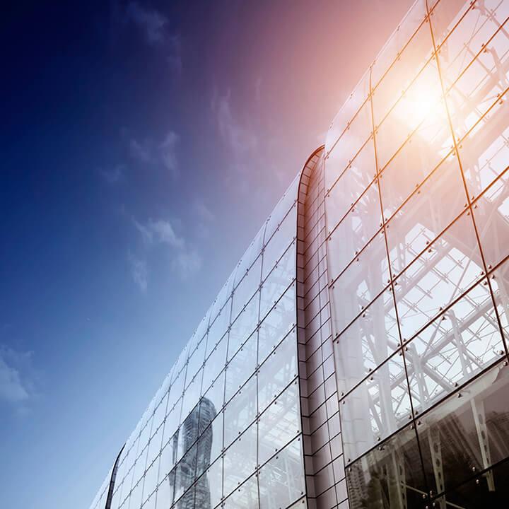 glass building 720 x 720