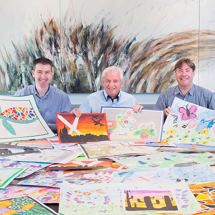Ashley Jackson, David Smedley and Dean Poole Calendar Competition Judging - August 2019