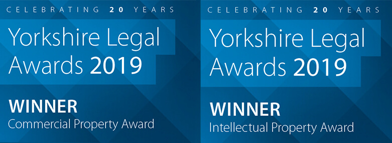 Yorkshire Legal Awards - 2019, Commercial Property and Intellectual Property Award Winners