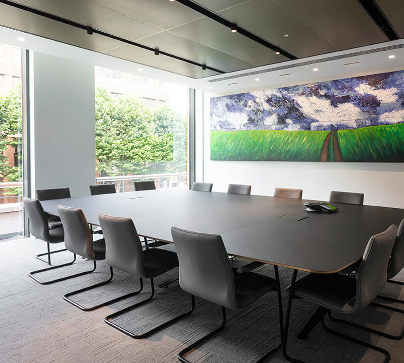 Meeting rooms at Walker Morris