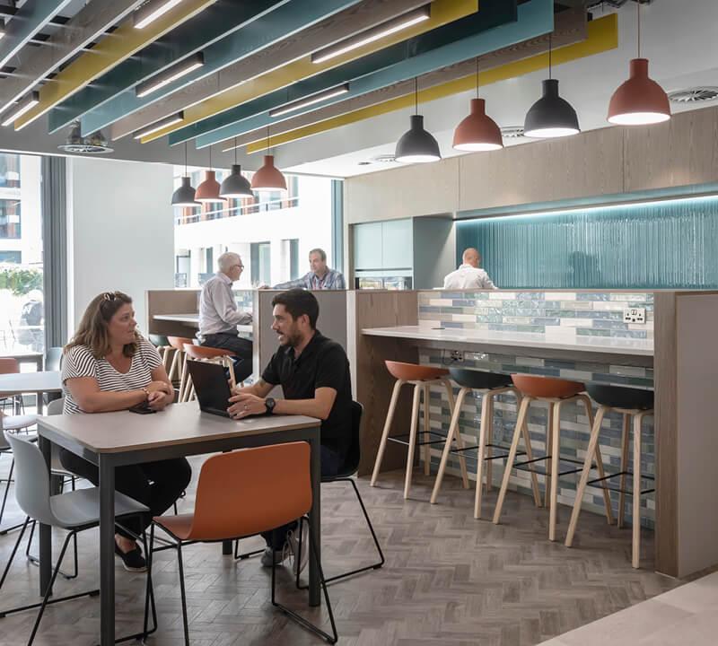 Walker Morris Cafe Area