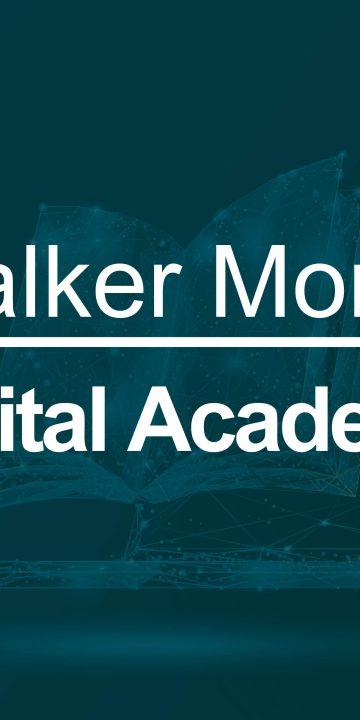 Walker Morris Digital Academy Header Image - an open book with a dark green overlay