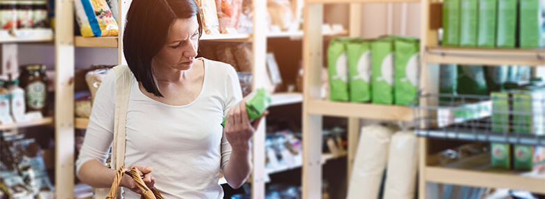 Woman_reading_product_information_on_label