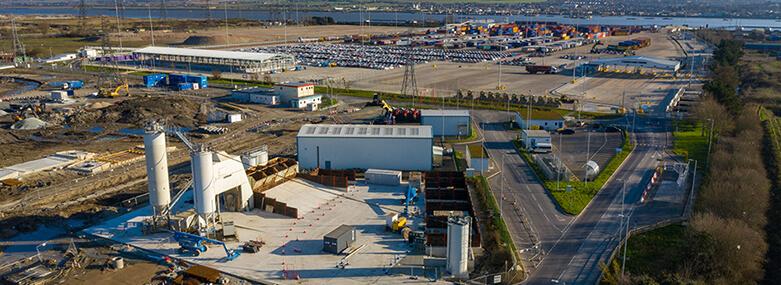 Port of Tilbury Tilbury2 Construction Materials Terminal with Tarmac 2021